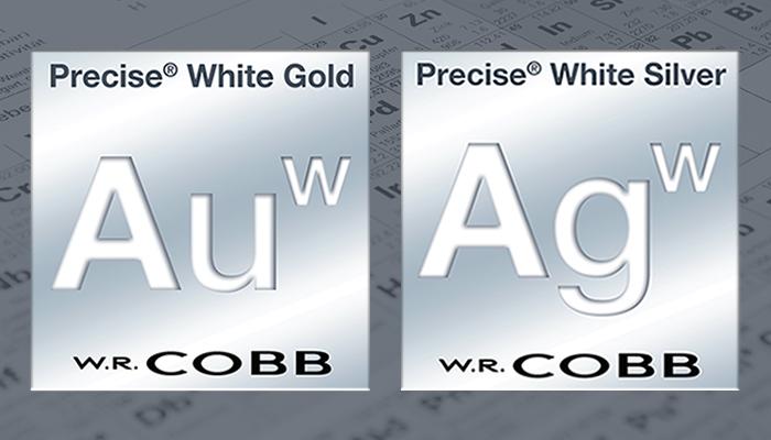 Precise White Gold and Silver