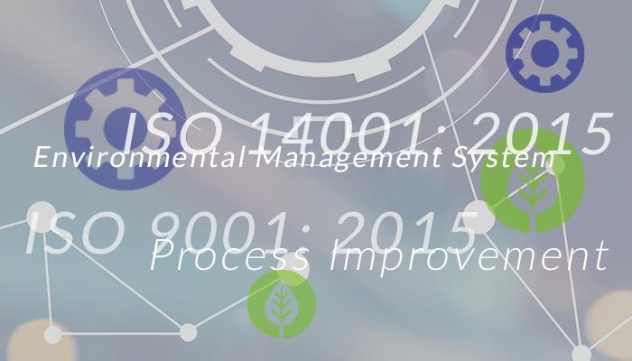 W.R. Cobb ISO 14001:2015 & 9001:2015